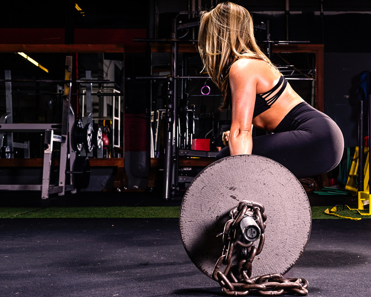 Fitness Haley Deadlift 2 by Dave Curtis