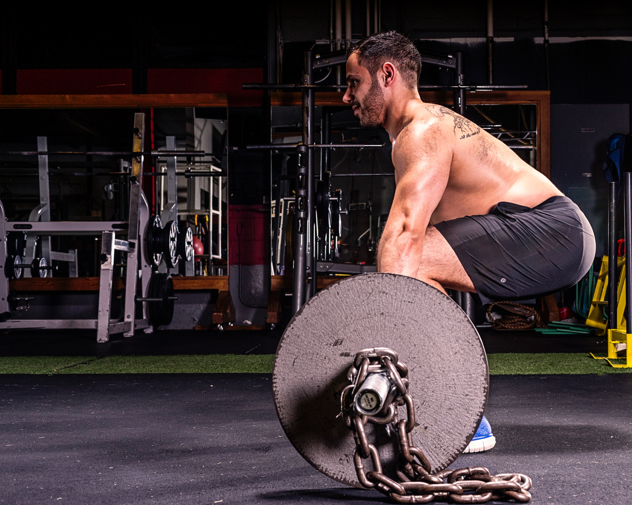 Fitness Rob Deadlift by Dave Curtis