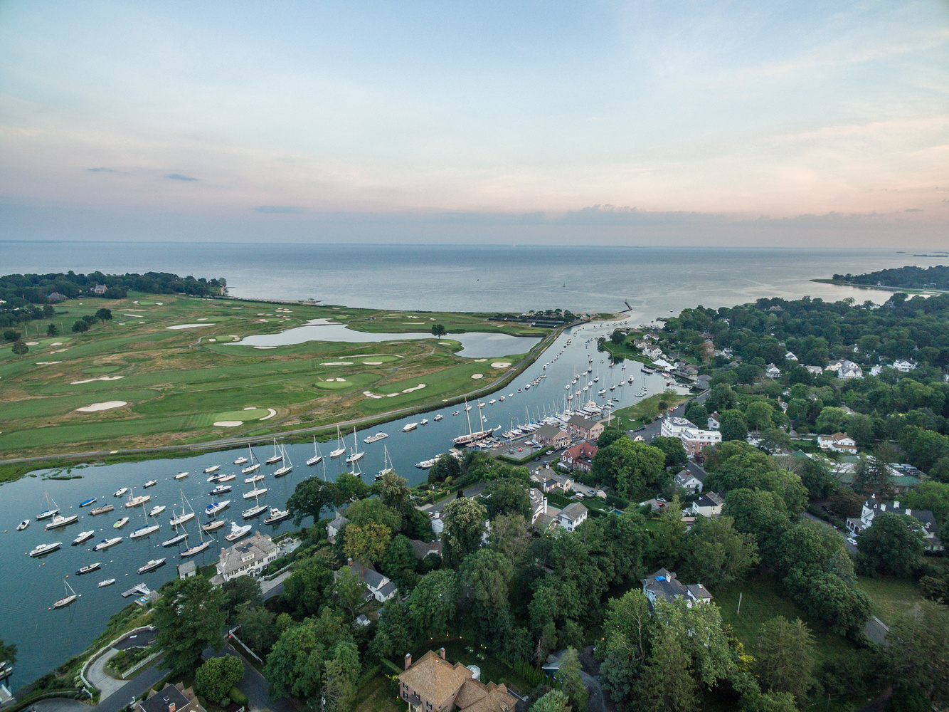 DJI Inspire 1 - Southport Harbor by Dave Curtis