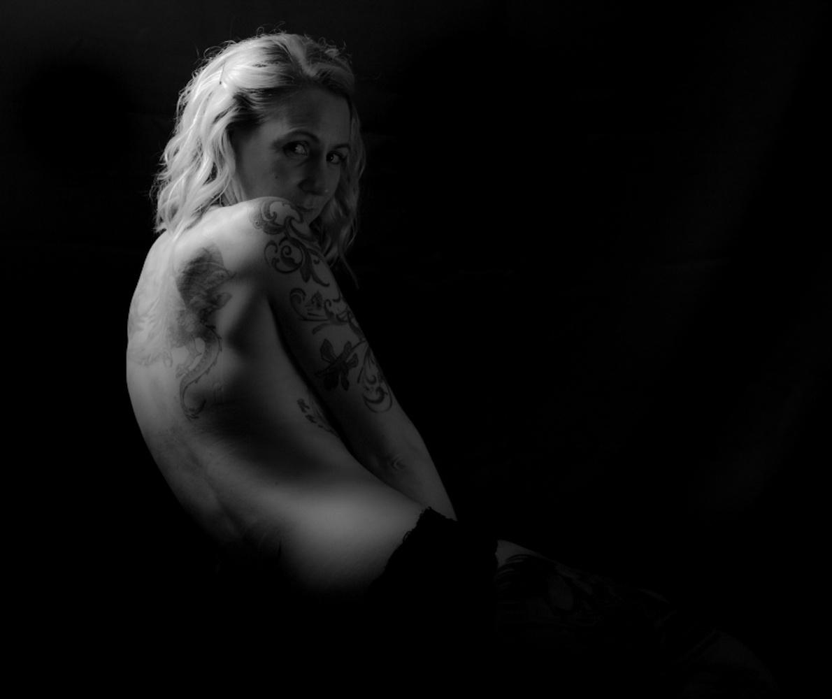 Tattooed Nude 2 by Nige James