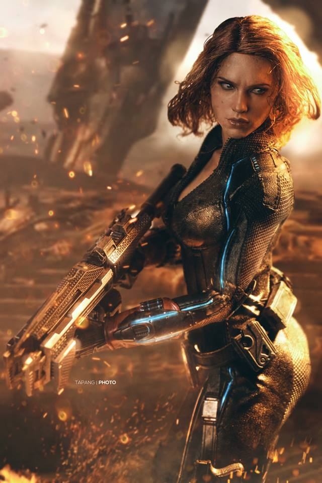 Age of Ultron Black Widow Revisited by Pete Tapang