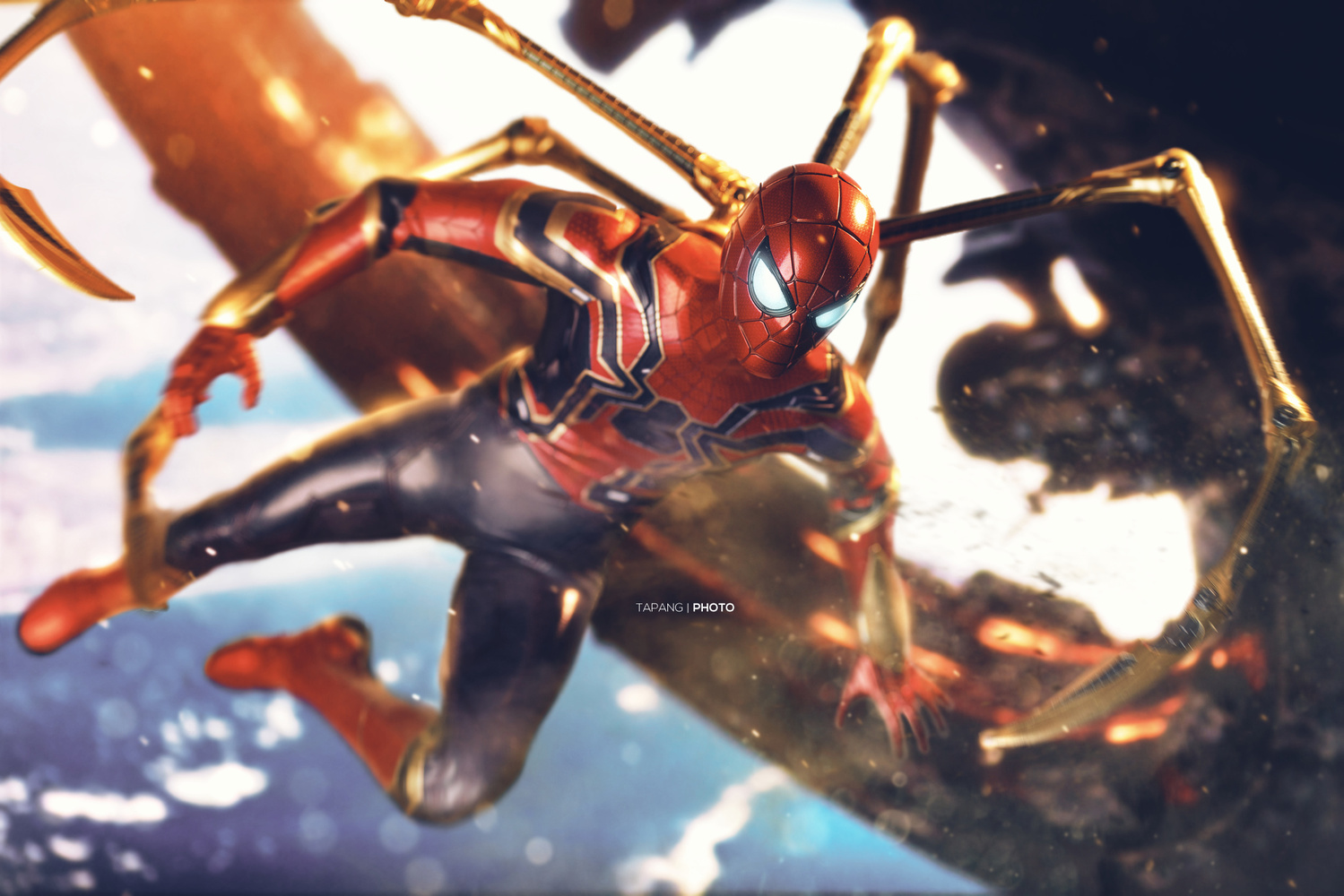 The Iron Spider by Pete Tapang