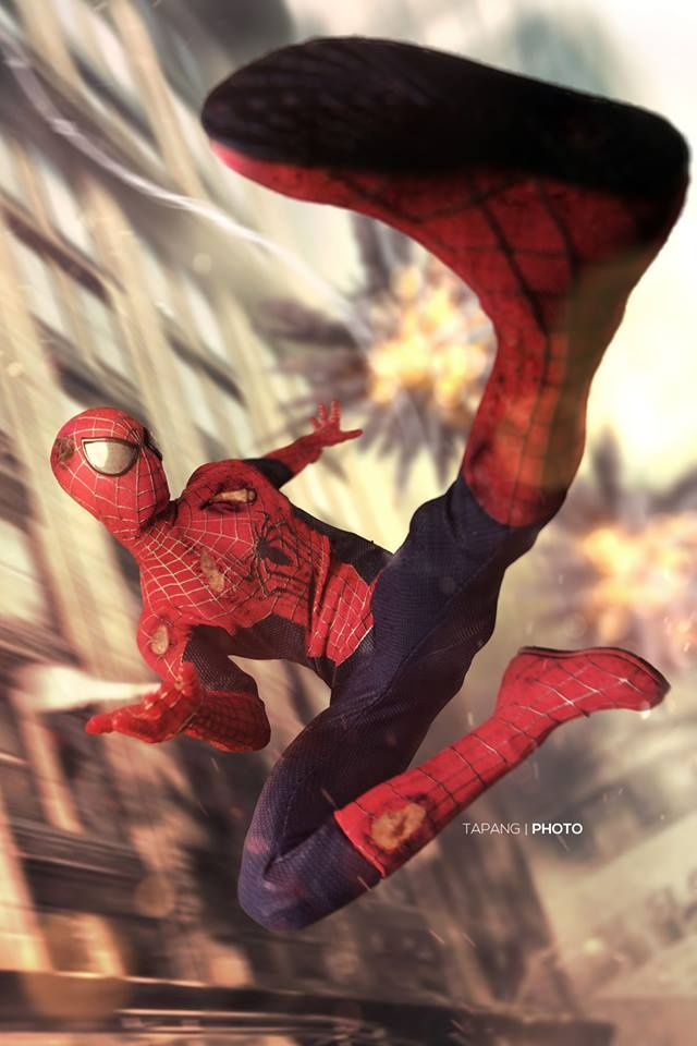 Spiderman by Pete Tapang
