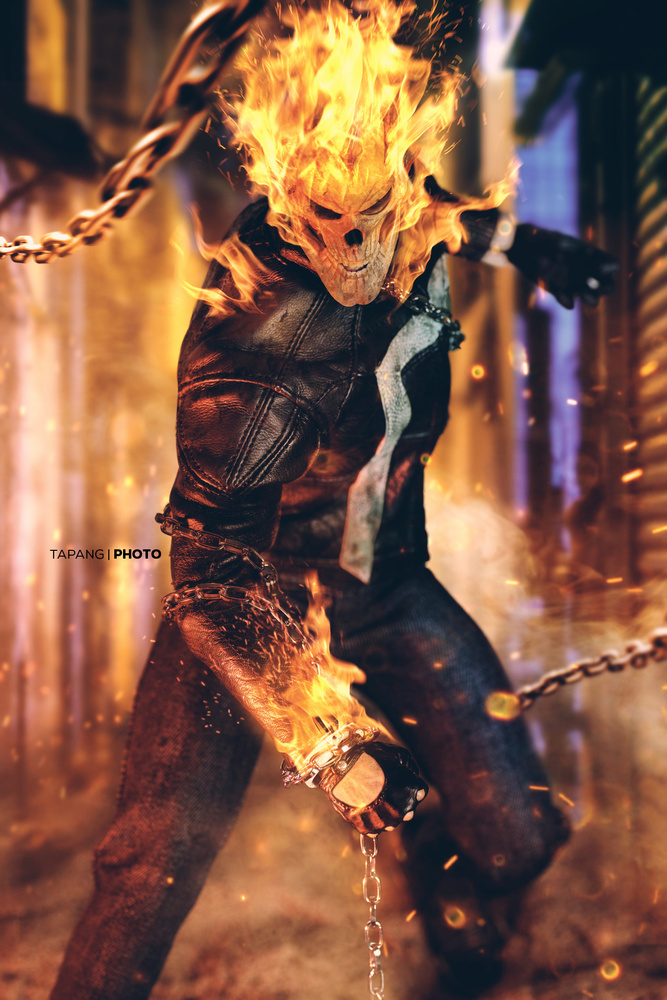 The Ghostrider by Pete Tapang