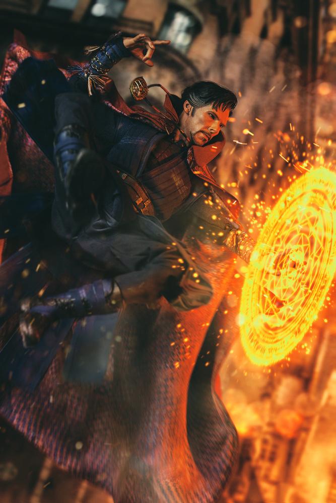 Sorcerer Supreme by Pete Tapang