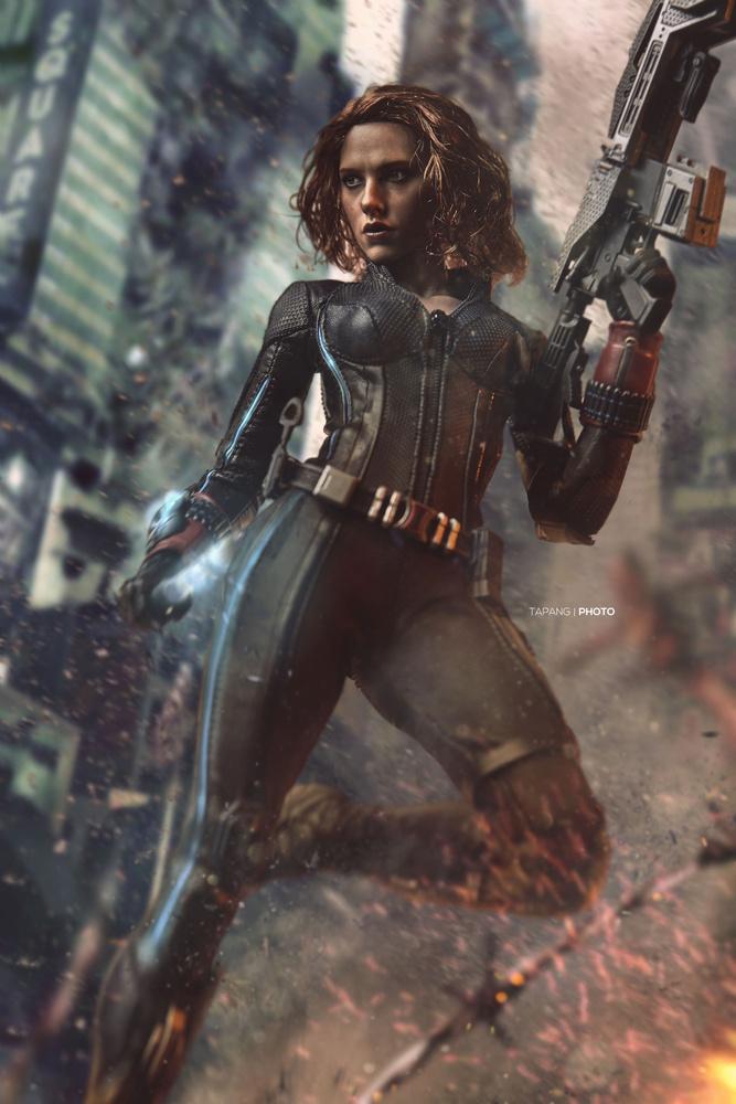 Black Widow by Pete Tapang