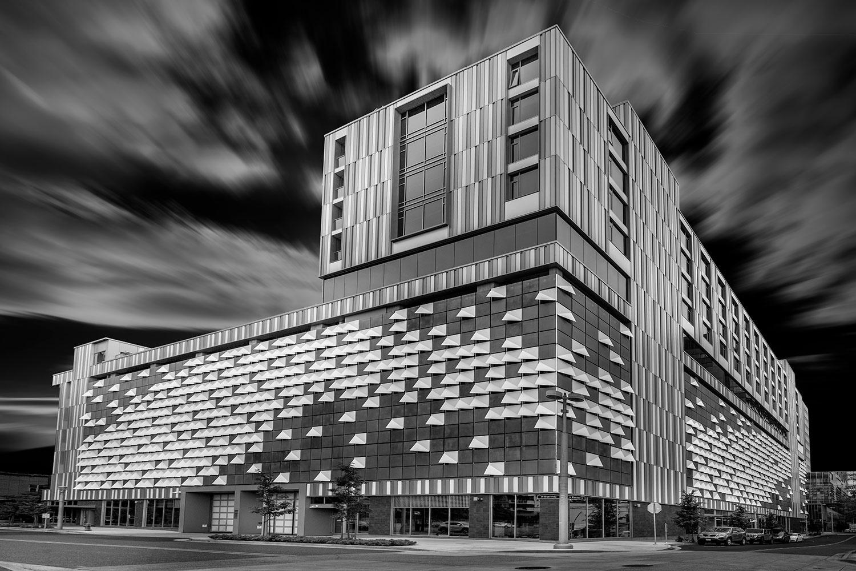 Origami Building by Daniel L Miller