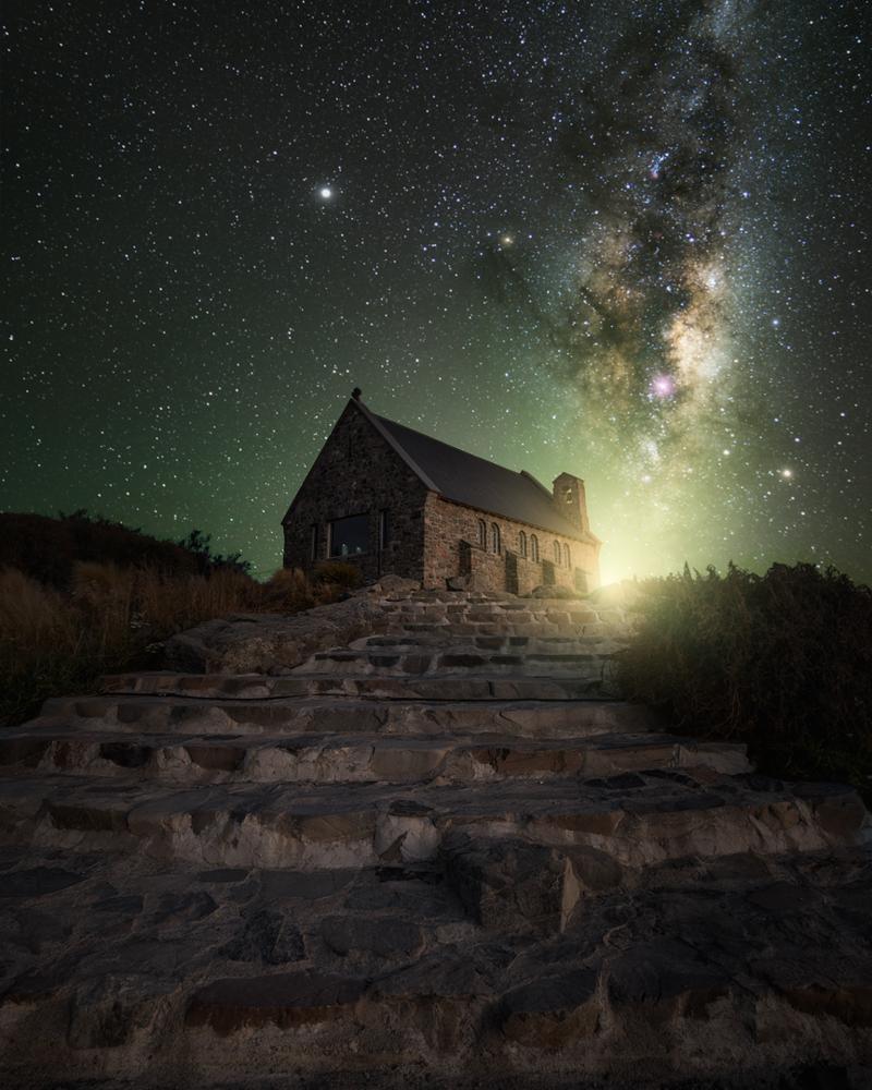 """""""Night Glow"""" Lake Tekapo [New Zealand] by Konstantinos Ouzounidis"""