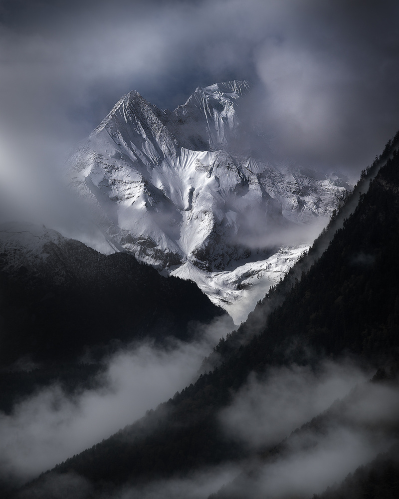 """Himalayas"" Annapurna Conservation Area [Nepal 🇳🇵] by Konstantinos Ouzounidis"