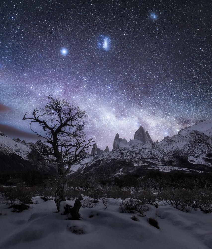 Mount Fitz Roy Astro by Konstantinos Ouzounidis