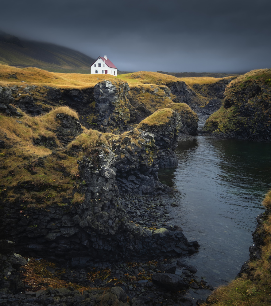 The House in Arnarstapi by Aritz Atela