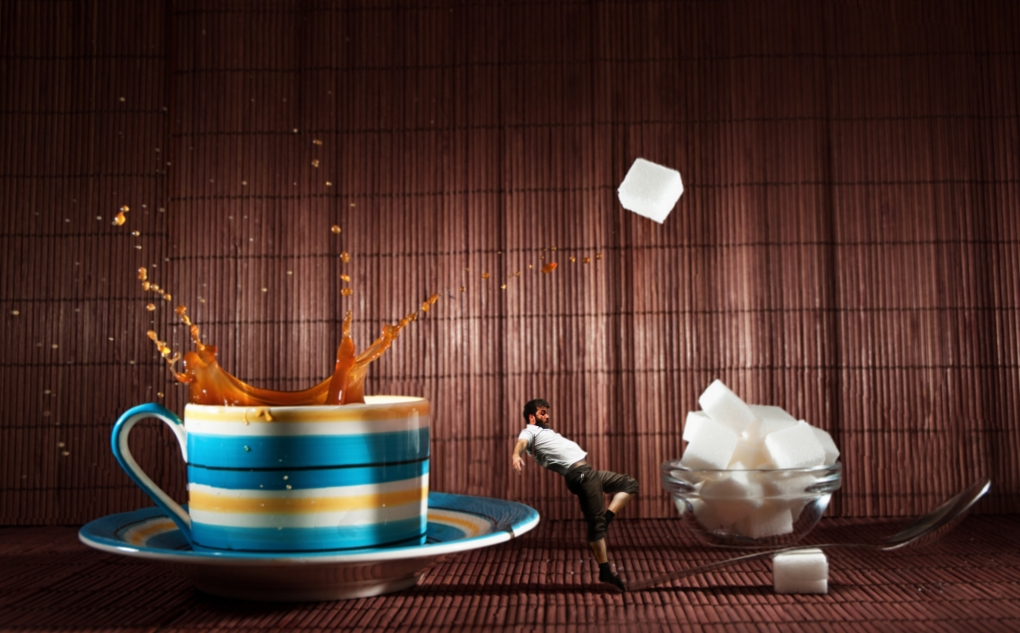 One Lump or Two by Dave Flynn