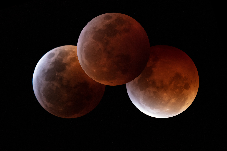 Lunar Eclipse by James Neihouse, ASC