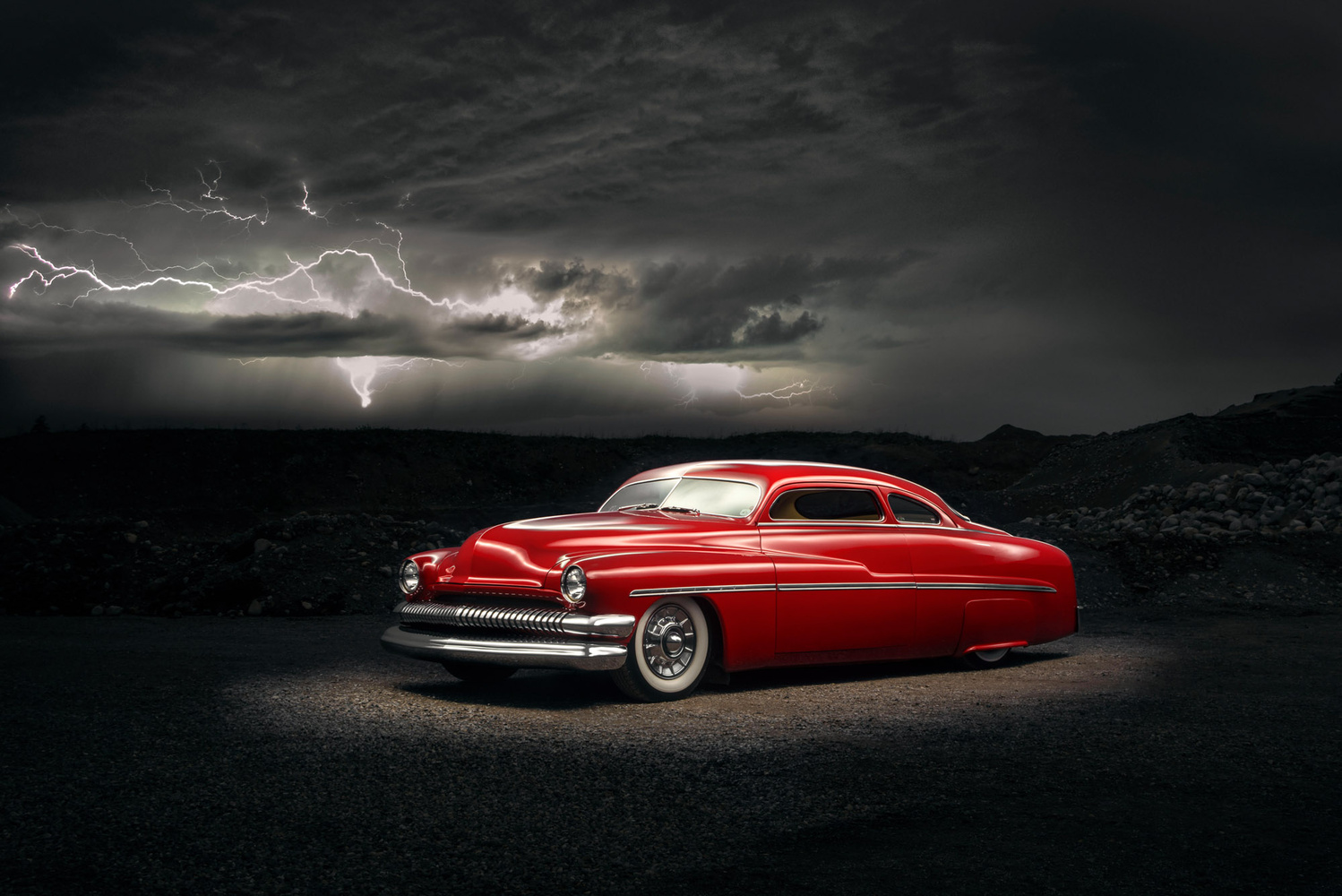 Mercury under lightning by Kenny Kroeker