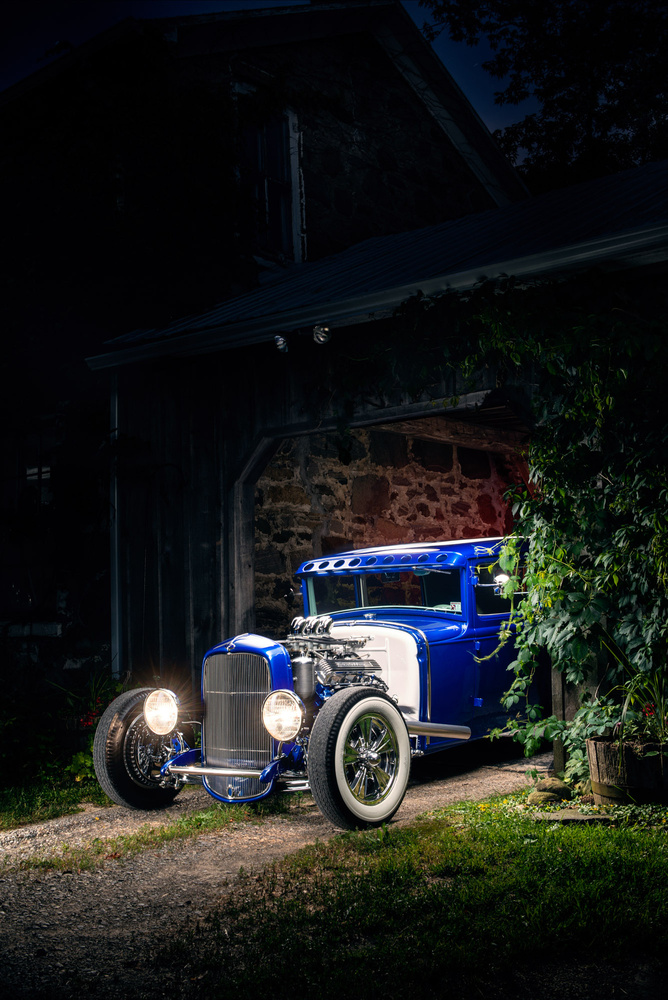 Model A with Caddy engine by Kenny Kroeker