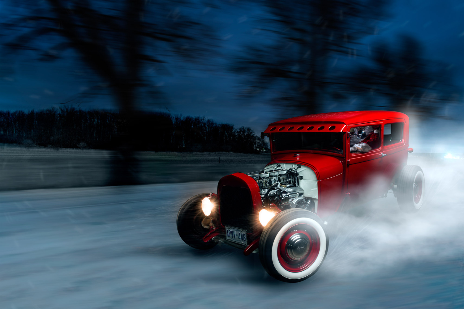 Drifting Model A by Kenny Kroeker