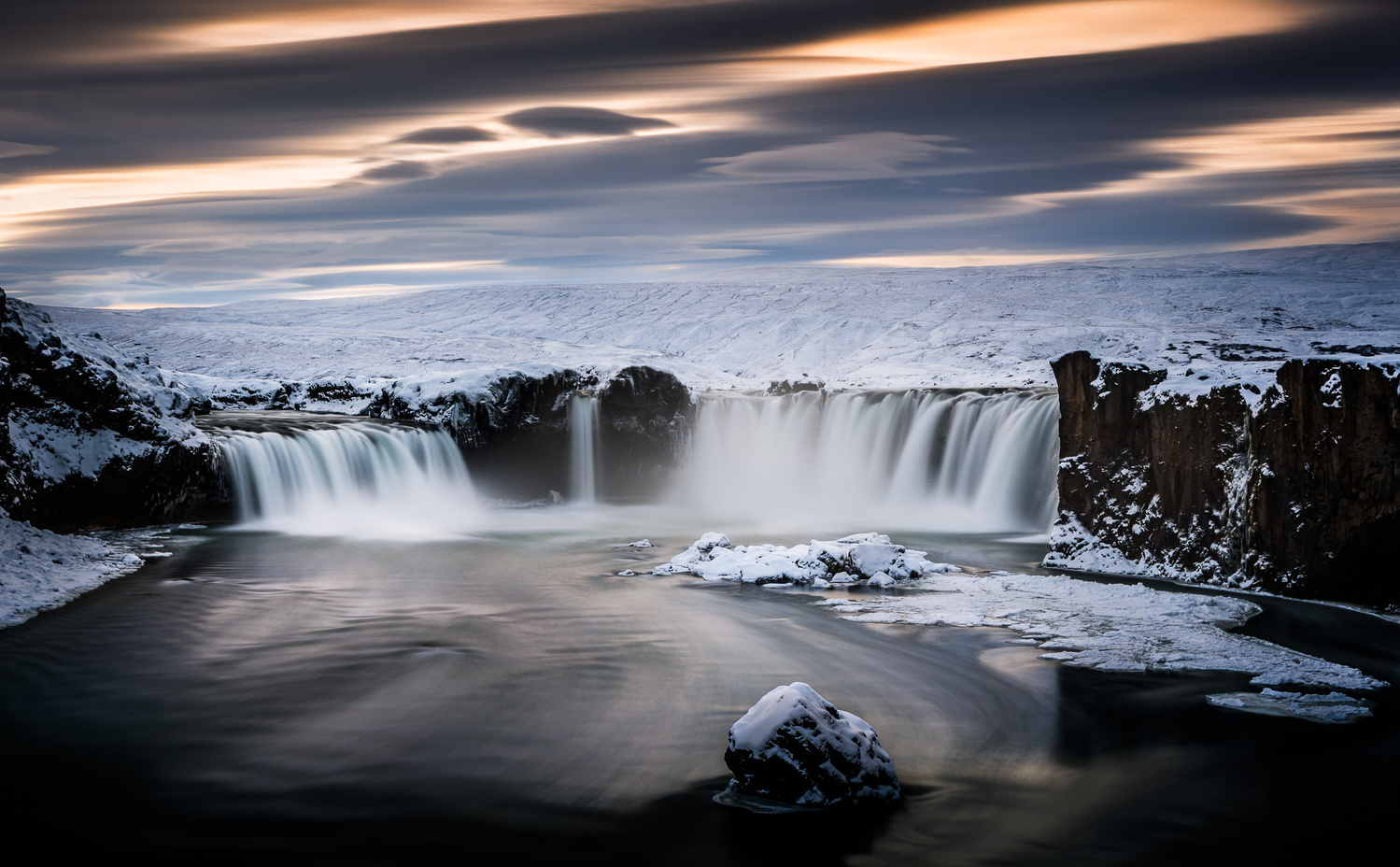 Godafoss by Mark Briffa