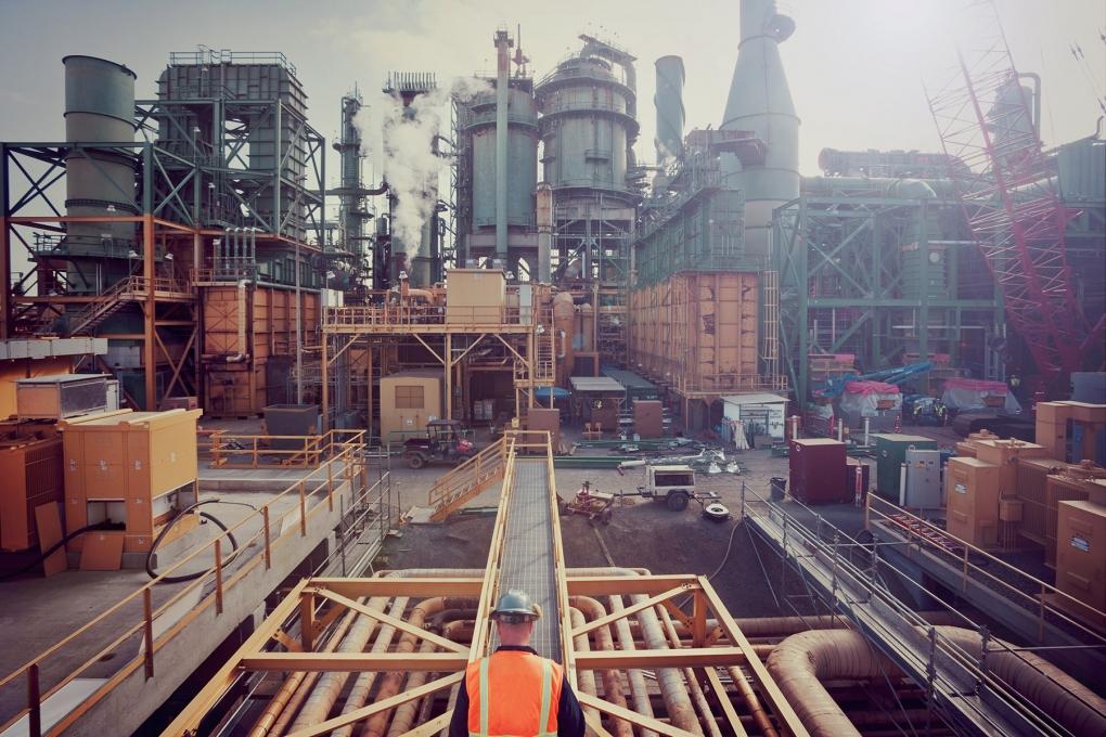 Valero Refinery I by Lucas Fladzinski