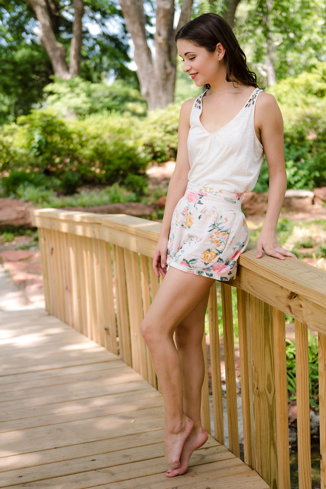 Shannon in the park 1 by Don Risi