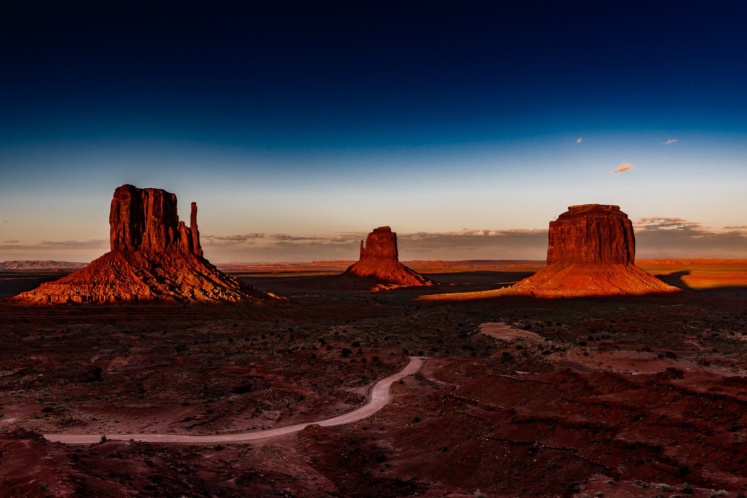 Monument Valley Sunset 1 by Don Risi