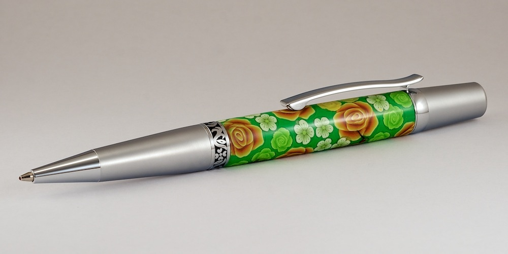 Polymer Clay Pen by Brad Cooper
