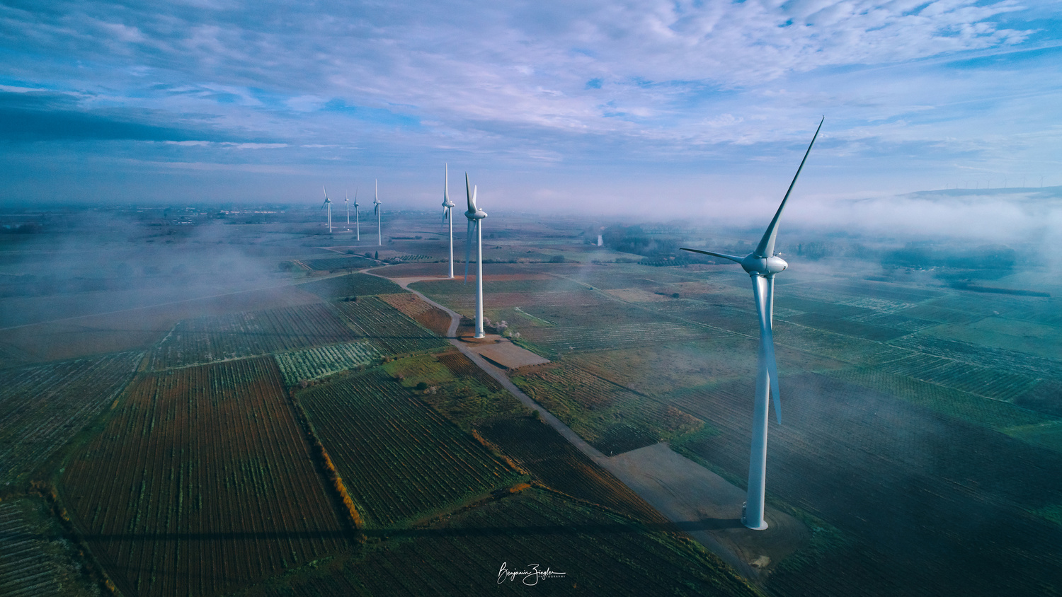 Wind Turbines by Benjamin ZIEGLER