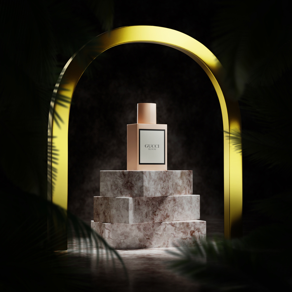 Gucci Bloom scent by Andrey Mikhaylov