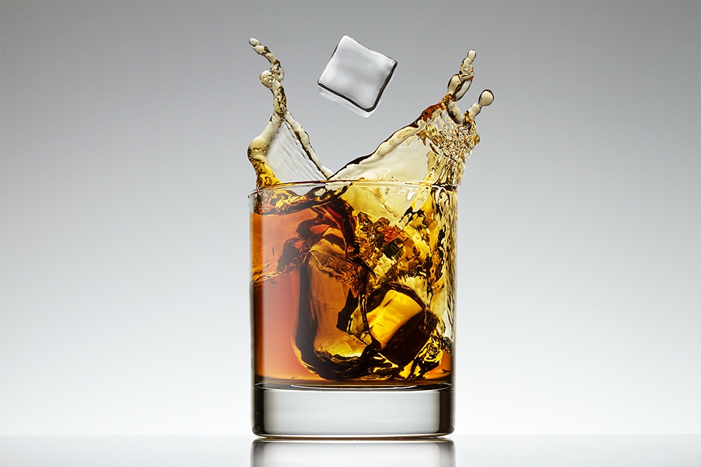 Splashes in glass by Andrey Mikhaylov