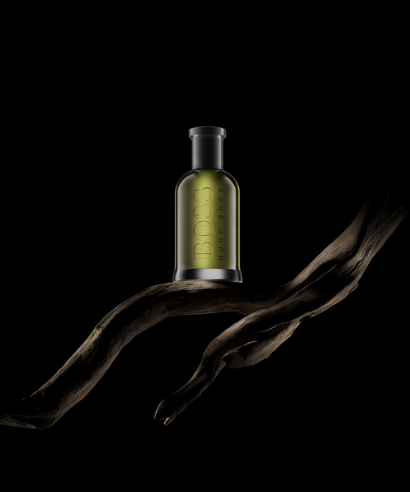 Hugo Boss Perfume, CG product visualization by Andrey Mikhaylov