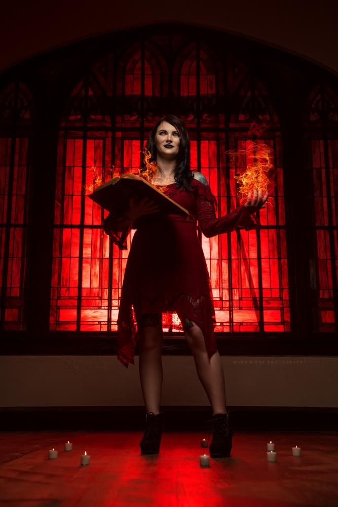 Pyrokinesis by Jess Hess