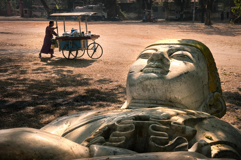 Forgotten Buddha by Jani Uljas