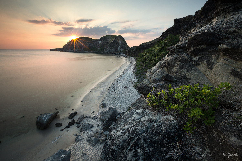 Sunset Beach by Geb Bunado