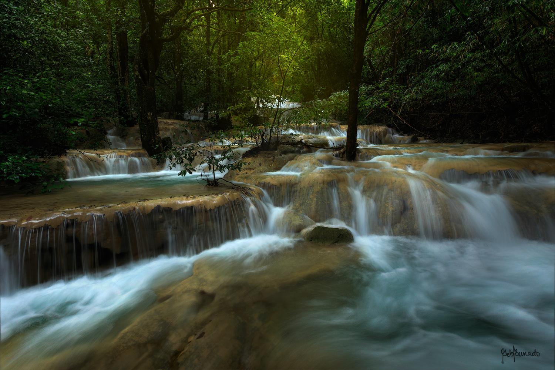 Kaparkan Falls, Philippines by Geb Bunado