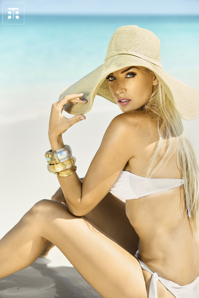Turks and Caicos Fashion Advertorial by Frank Withers