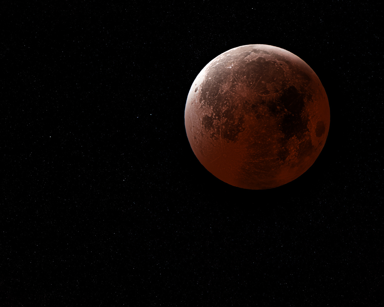 Super Blood Wolf Moon Eclipse by Colin Burch