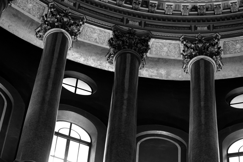 In the rotunda by Edward Crim