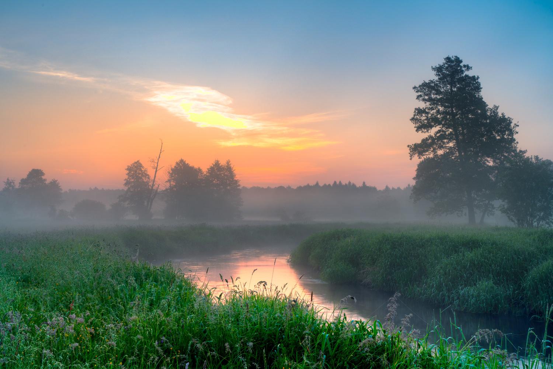 Just before sunrise by Michał Połowiński