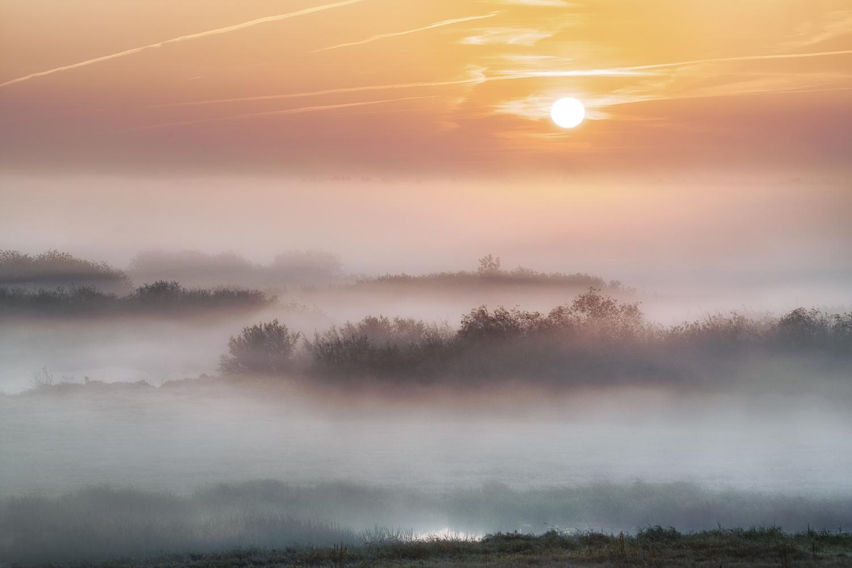 Fog over the valley by Michał Połowiński