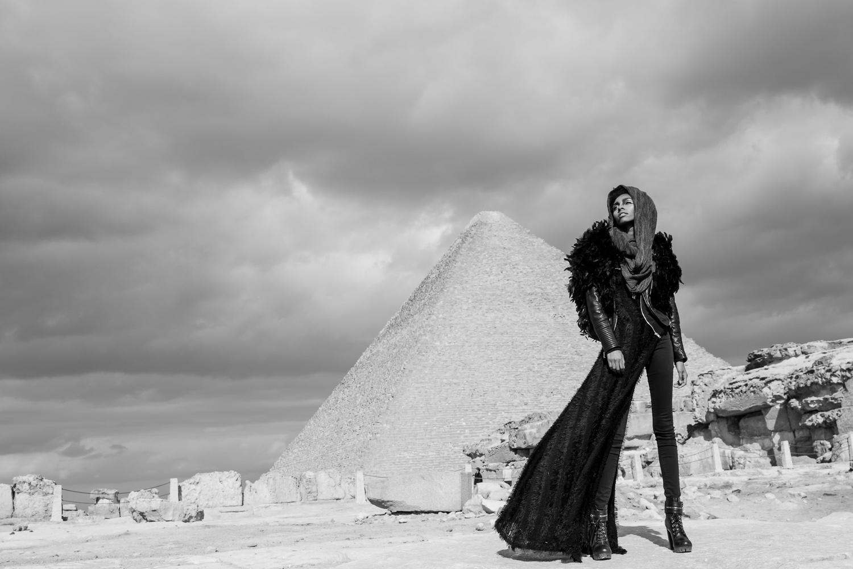 Egypt Pyramids  by Ryan Alston