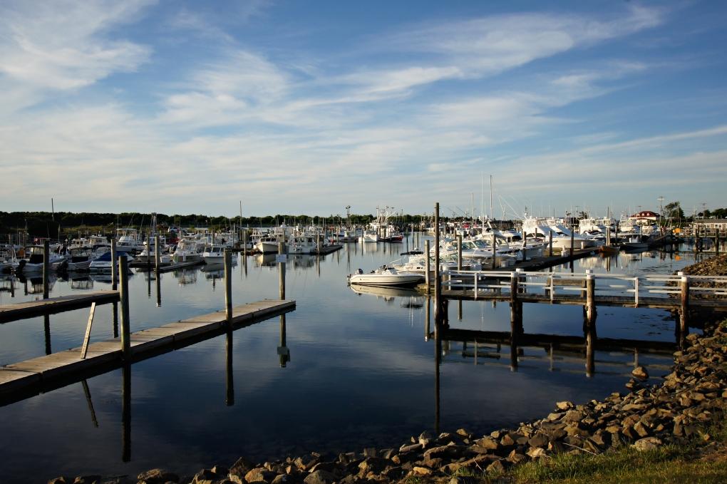Cape Cod Marina by Pam Hollis