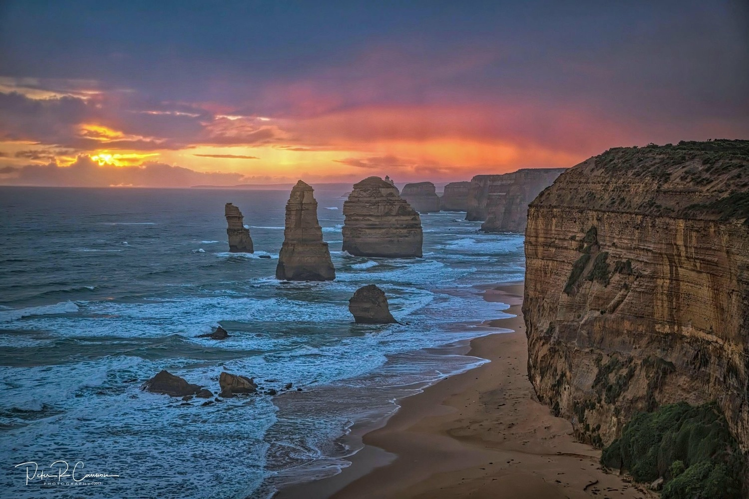 The Apostless, Australia  by Peter Cannon