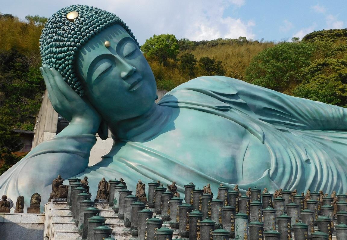 Resting Buddha by Nathan Scheer