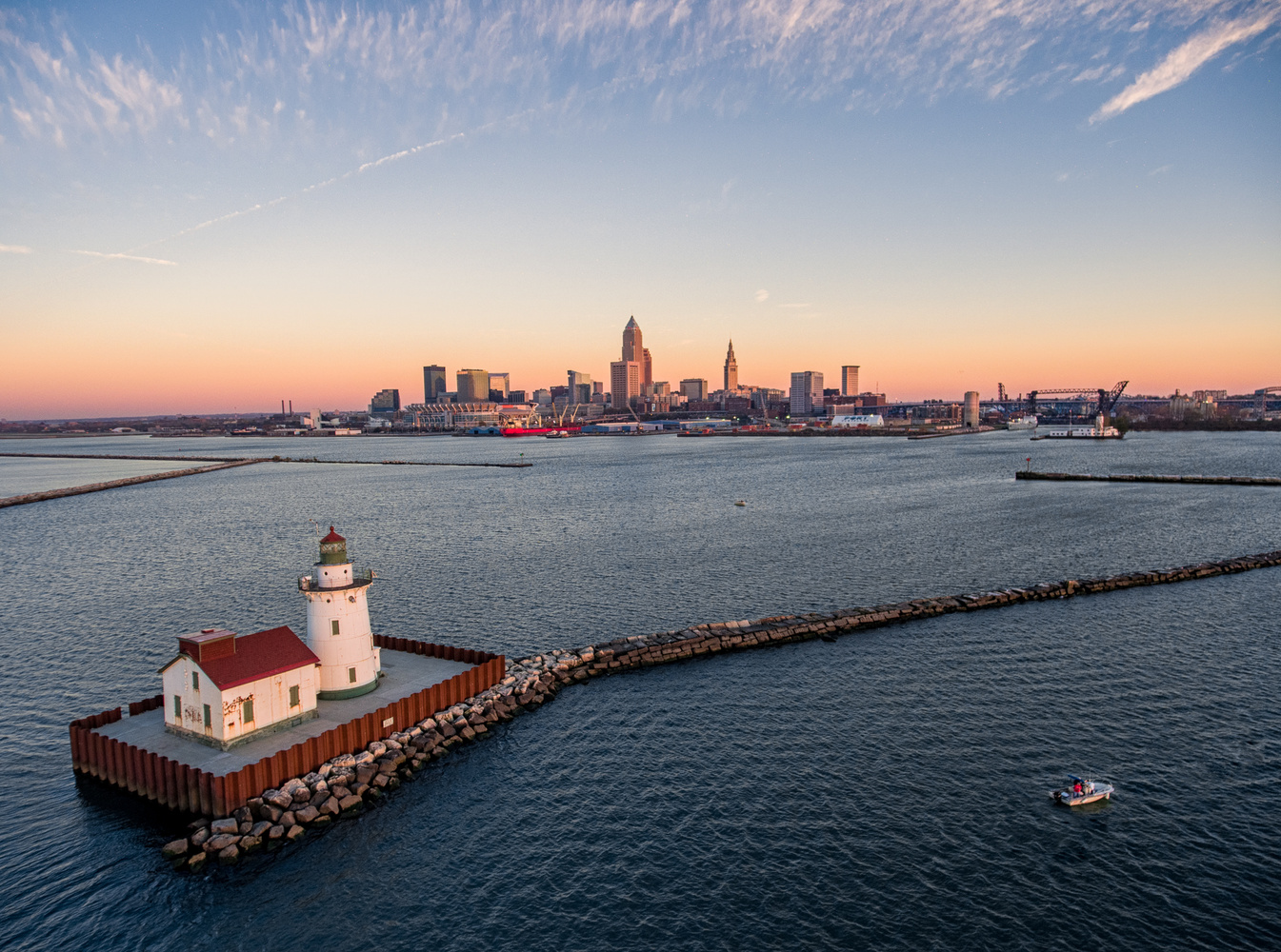 Cleveland Skyline 1 by Alex Cooke