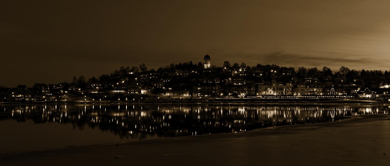 Dusk Lights by Micke Holmberg