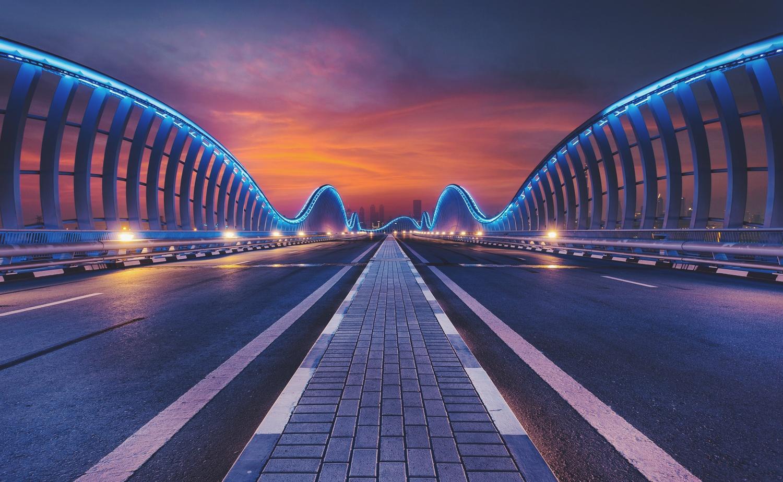 Meydan Bridge by Rafal Hyps