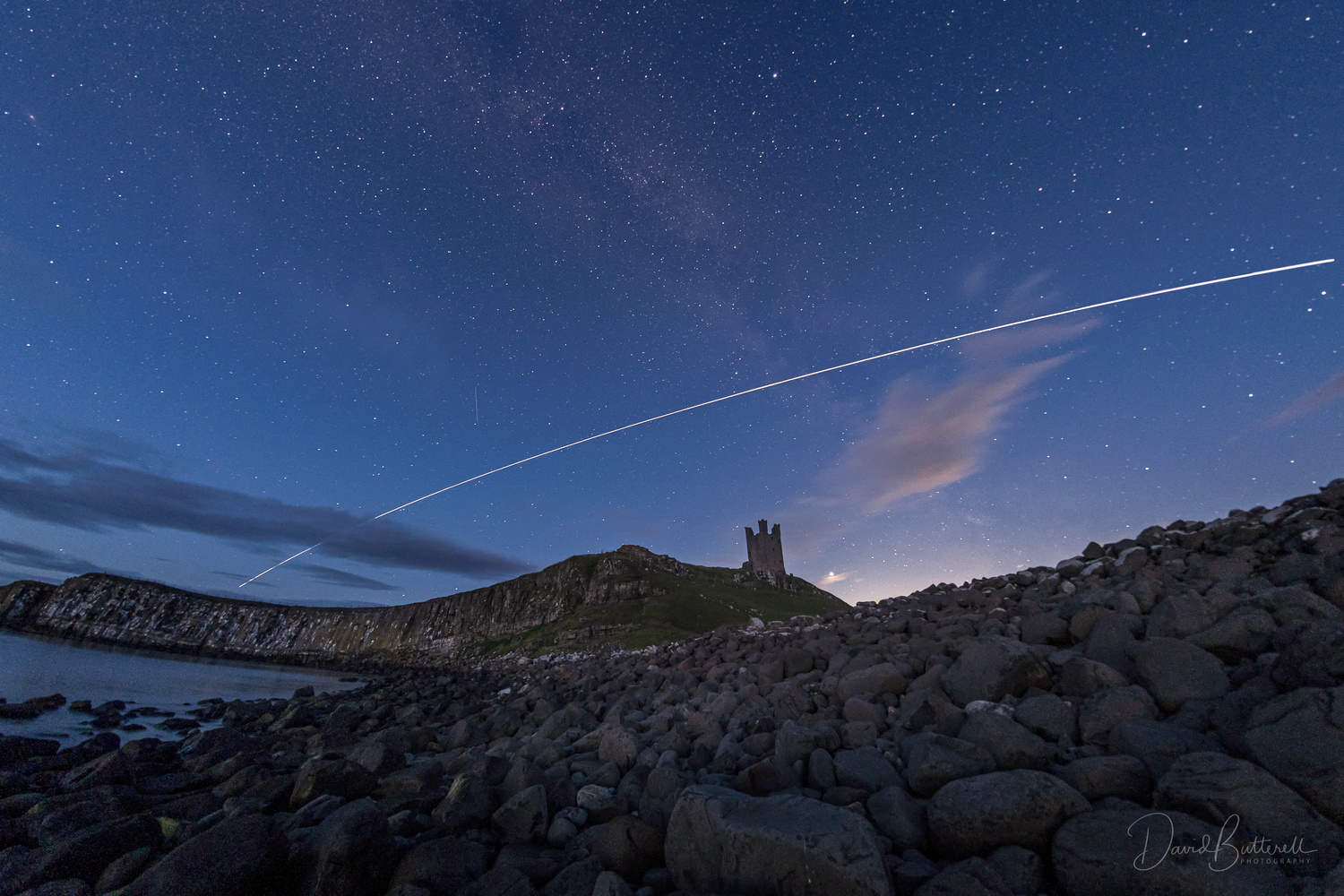 The Castle and the Space Station by David Butterell