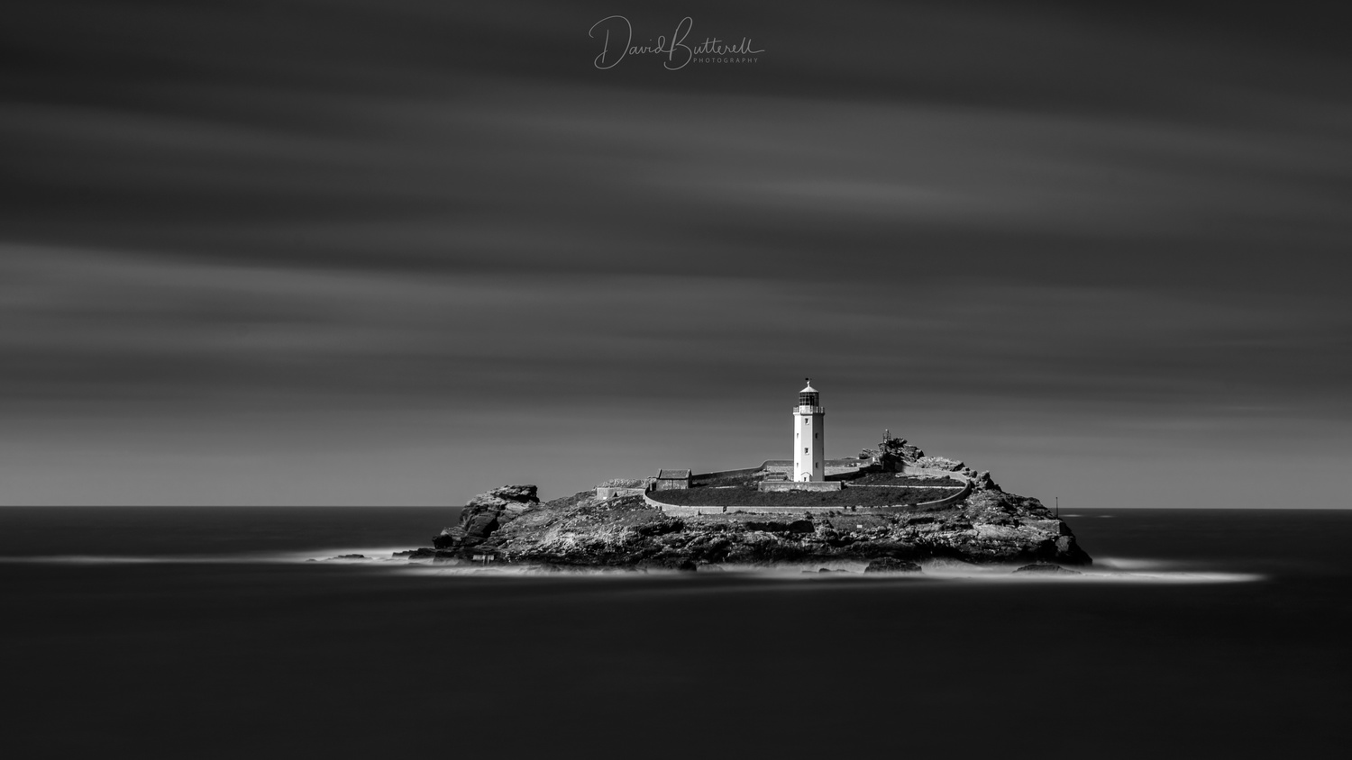 Godrevy Lighthouse by David Butterell