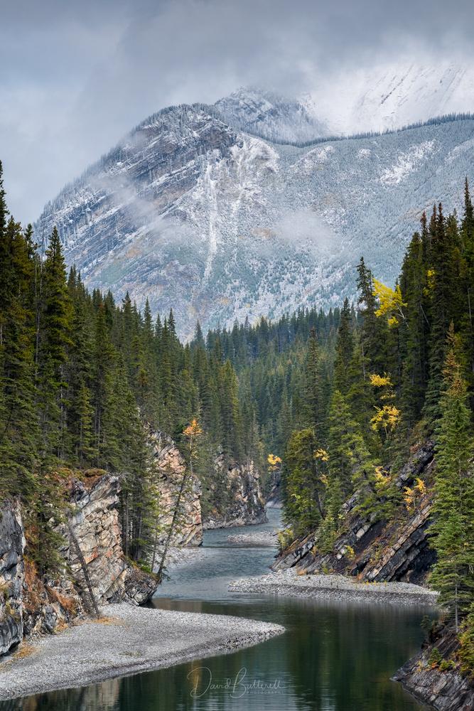 Stewart Canyon - Lake Minnewanka by David Butterell