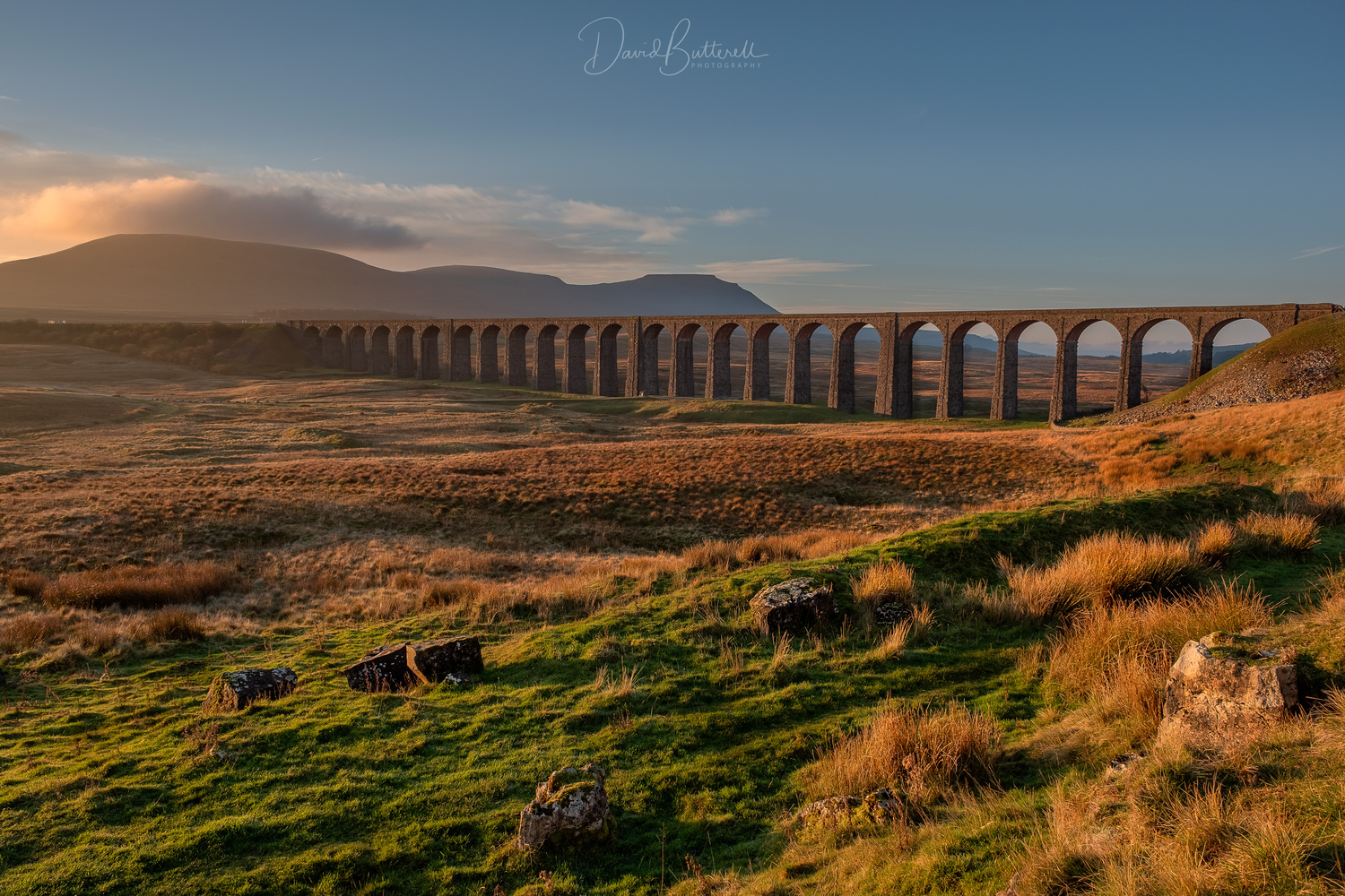 RibbleHead Viaduct by David Butterell
