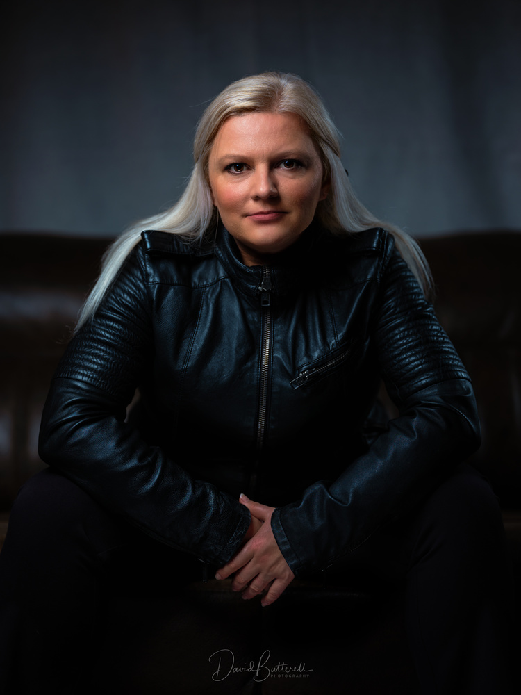 Louise - Leather Jacket by David Butterell